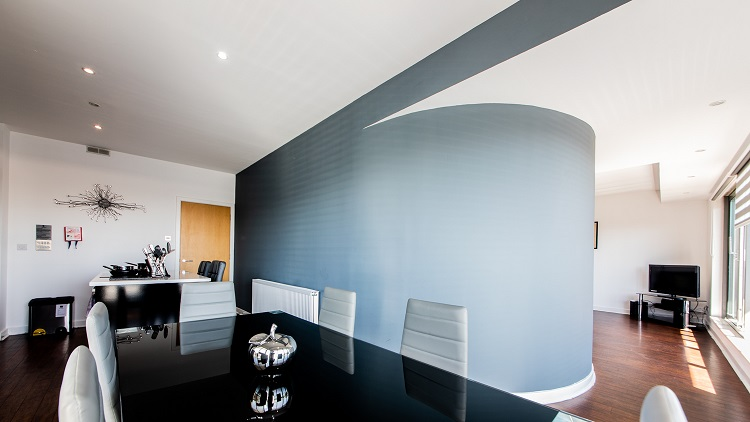 Dining area at The Spires Glasgow - Citybase Apartments