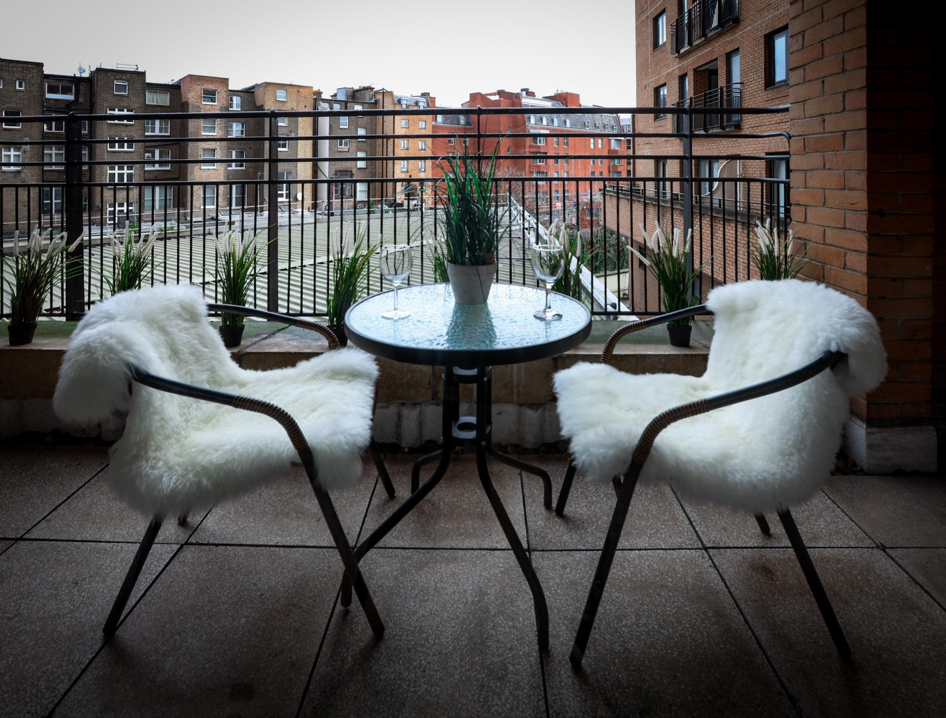 Balcony at 116 Point West Apartments, South Kensington, London - Citybase Apartments