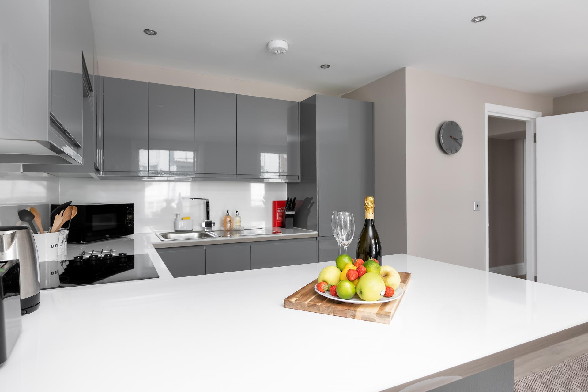 Worktop at Western Road Apartments, Centre, Brighton - Citybase Apartments