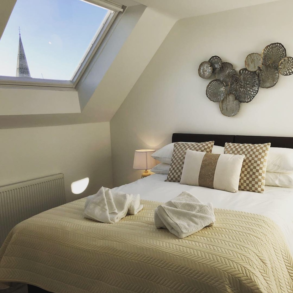 Bedroom at Reading Kings Lodge Apartments, Centre, Reading - Citybase Apartments