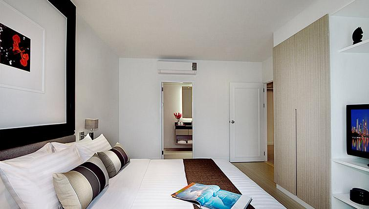 Bedroom at Somerset Park Suanplu Apartments - Citybase Apartments
