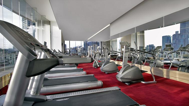 Gym at ark Suanplu Apartments - Citybase Apartments