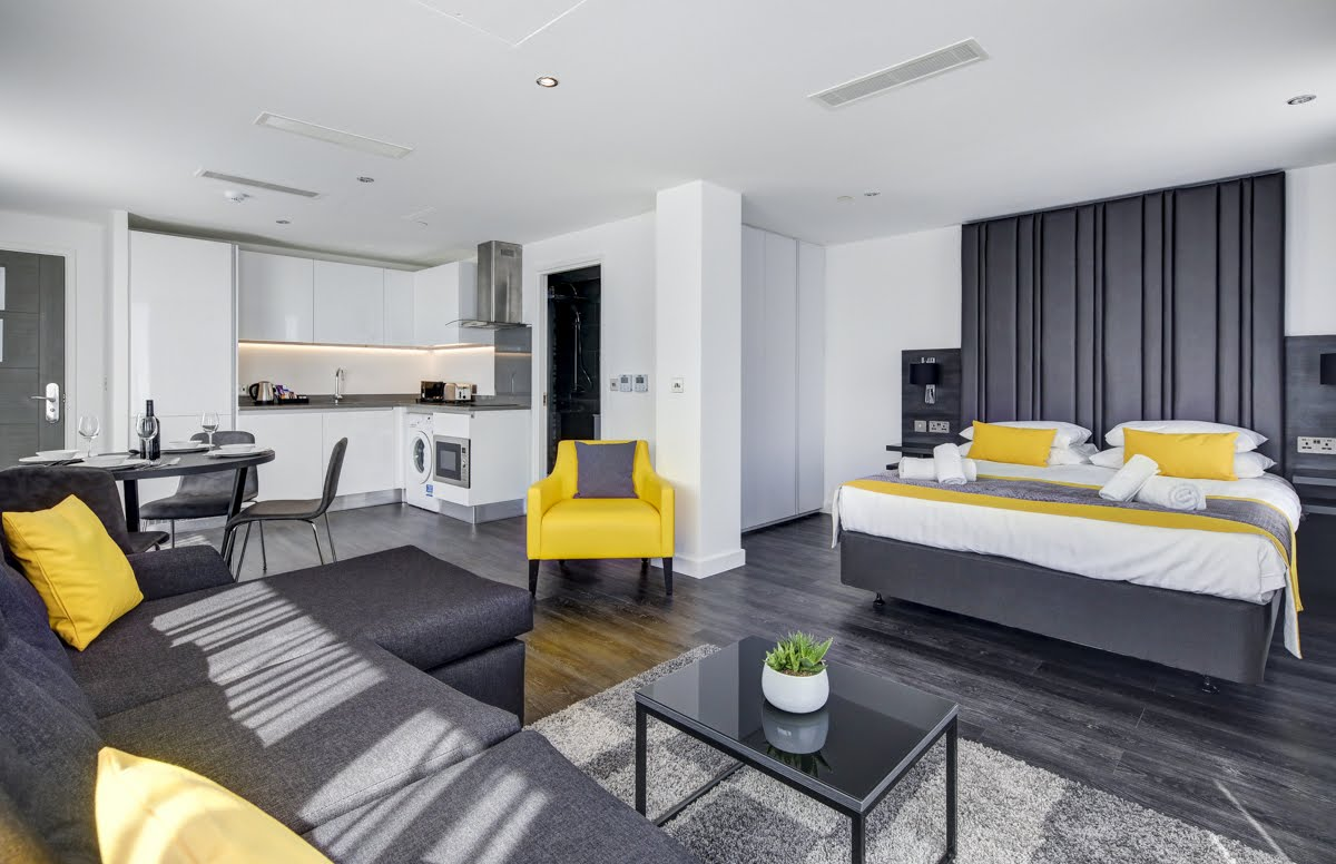 Studio Apartment at ExCel Dockside Apartments, Royal Docks, London - Citybase Apartments