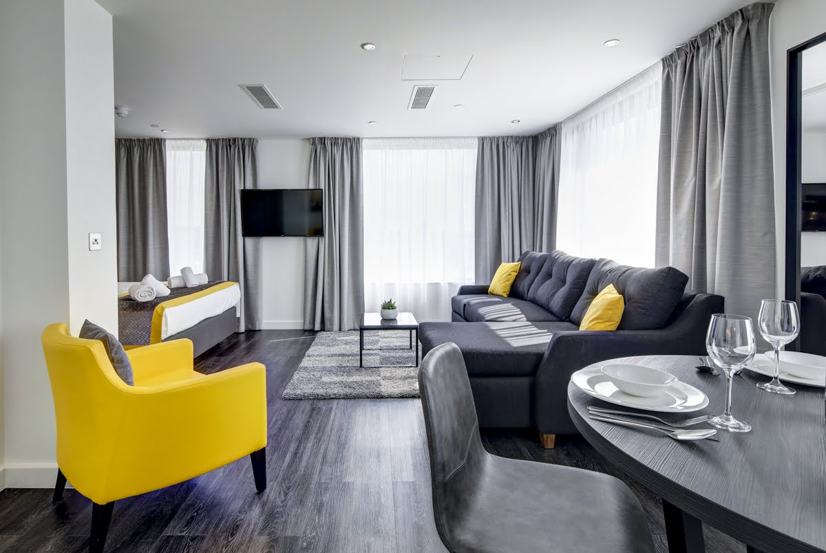 Overview at ExCel Dockside Apartments, Royal Docks, London - Citybase Apartments
