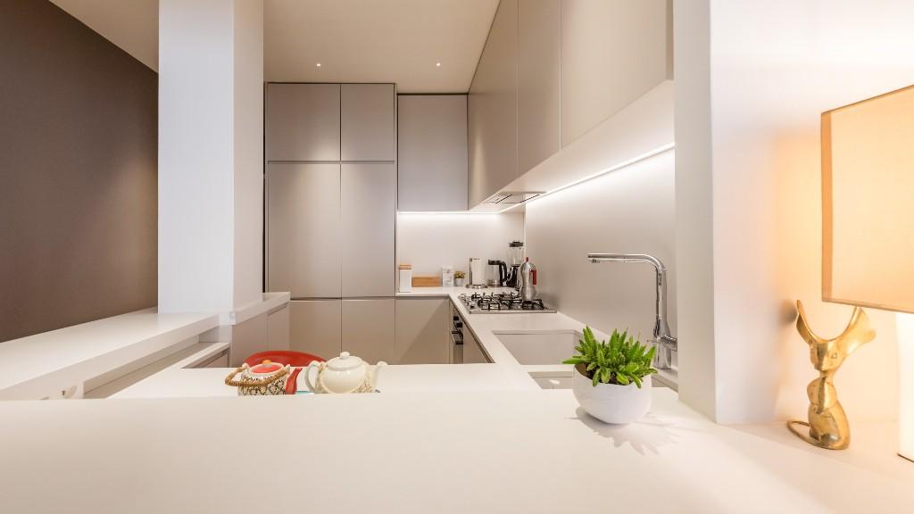 Fully equipped kitchen at Four Saint Germain Apartments, Monnaie, Paris - Citybase Apartments