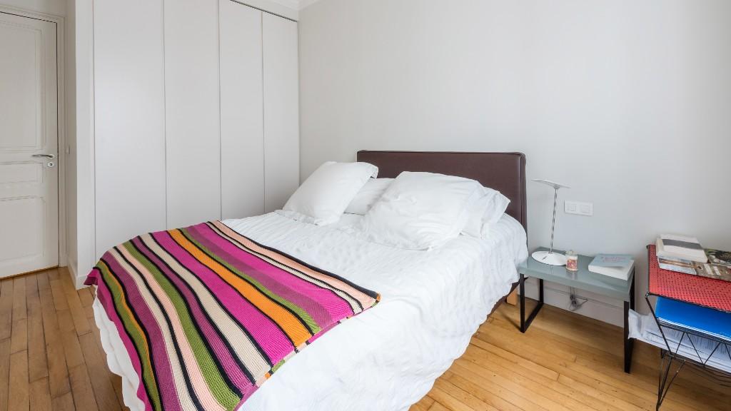Bedroom at Four Saint Germain Apartments, Monnaie, Paris - Citybase Apartments