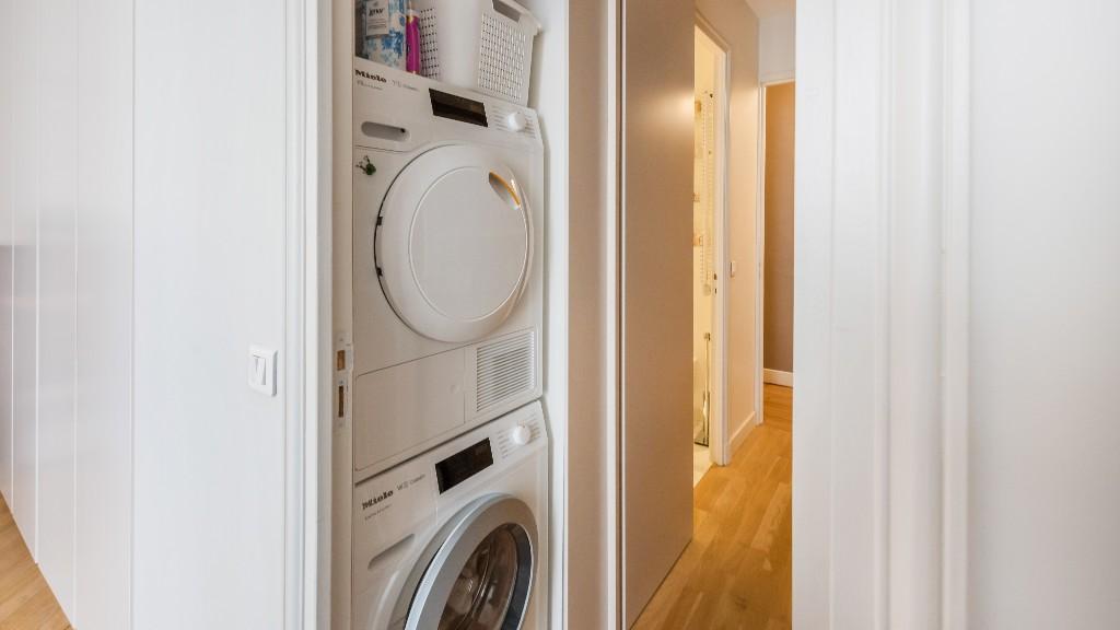 Laundry at Four Saint Germain Apartments, Monnaie, Paris - Citybase Apartments