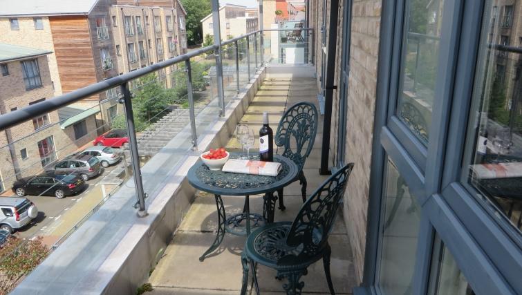 Beautiful balcony at The Vie Apartments - Citybase Apartments