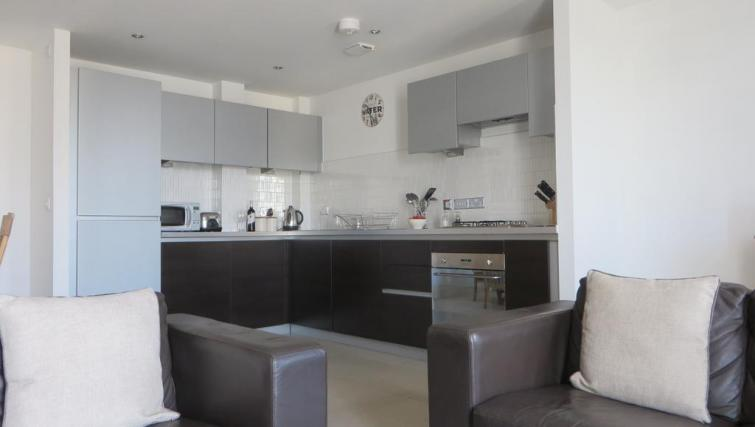 Modern kitchen at The Vie Apartments - Citybase Apartments