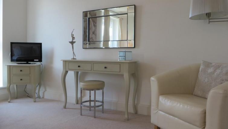Elegant living area at The Vie Apartments - Citybase Apartments