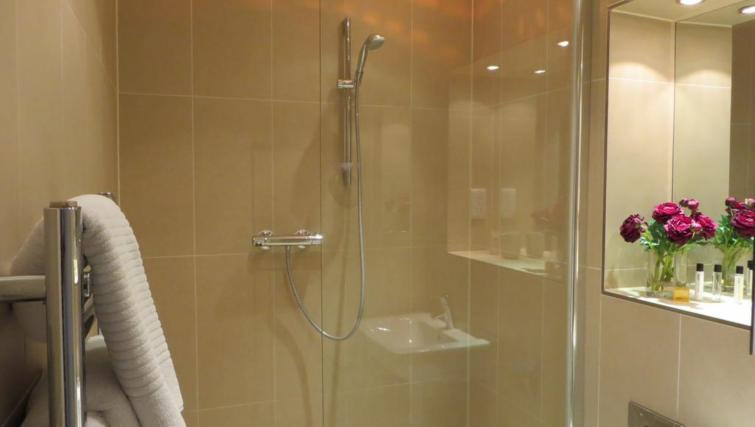 Shower room at The Vie Apartments - Citybase Apartments