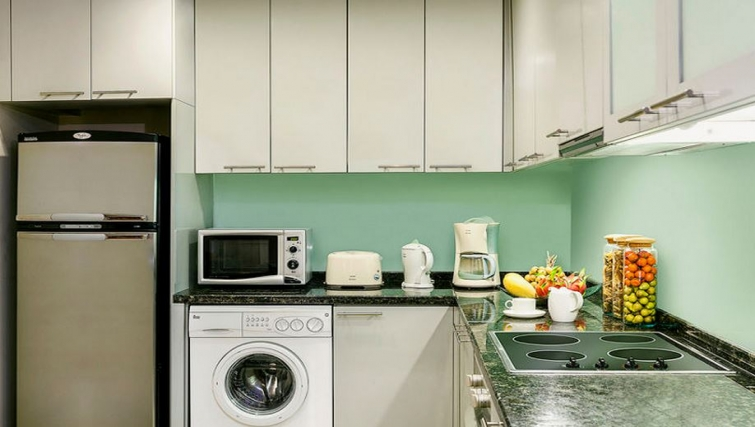 Modern kitchen in Ascott Sathorn Apartments - Citybase Apartments