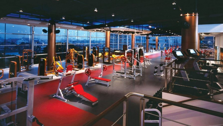 Sate of the art gym in Ascott Sathorn Apartments - Citybase Apartments