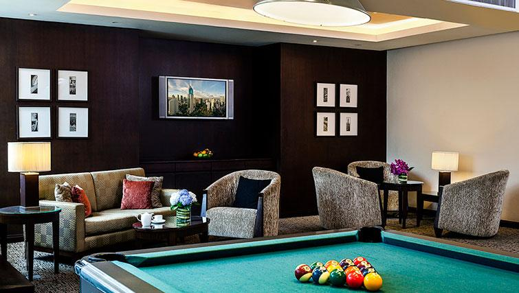Games room at Ascott Sathorn Apartments - Citybase Apartments