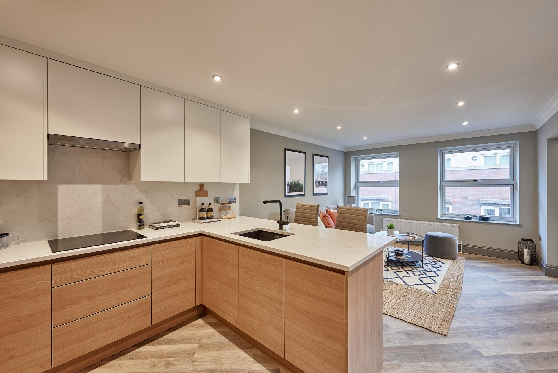 Worktop at The St Paul's Residence, Jewellery Quarter, Birmingham - Citybase Apartments