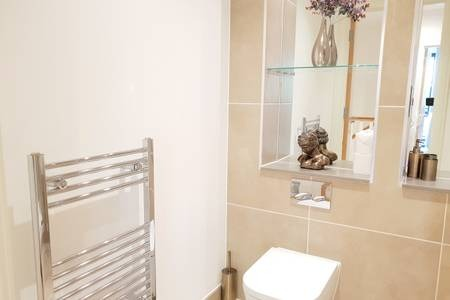 WC at Elgin Avenue Apartments, Westbourne Green, London - Citybase Apartments