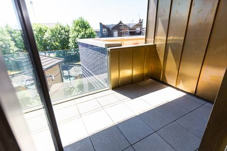 Balcony at Elgin Avenue Apartments, Westbourne Green, London - Citybase Apartments