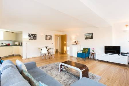 TV at Marzell House Serviced Apartments, West Kensington, London - Citybase Apartments