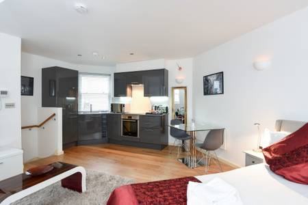 Studio at Marzell House Serviced Apartments, West Kensington, London - Citybase Apartments