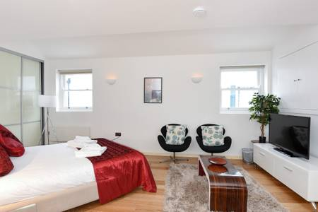 Chairs at Marzell House Serviced Apartments, West Kensington, London - Citybase Apartments