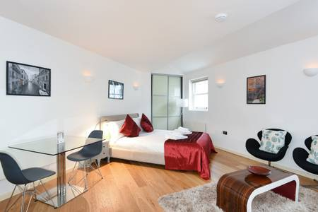 Table at Marzell House Serviced Apartments, West Kensington, London - Citybase Apartments