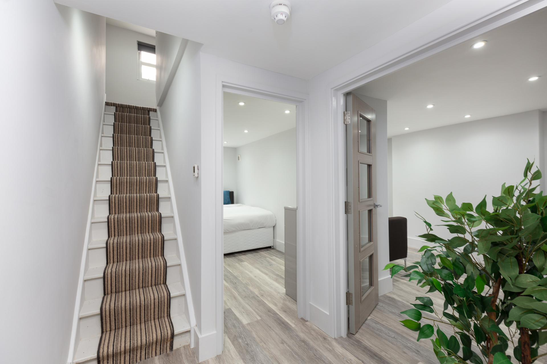 Hallway at Harrow Road Apartments, Westbourne Green, London - Citybase Apartments