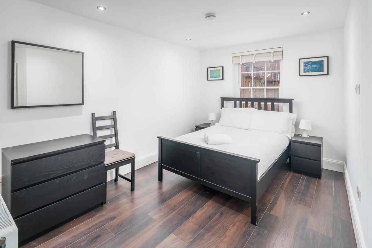 Bedroom at Shoreditch Serviced Apartments, Shoreditch, London - Citybase Apartments