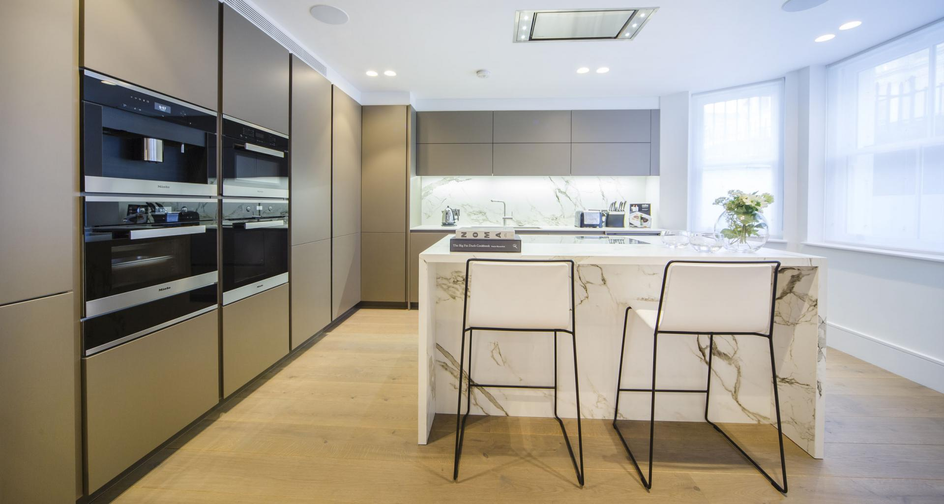Kitchen at 21 Campden Hill Garden House, Notting Hill, London - Citybase Apartments