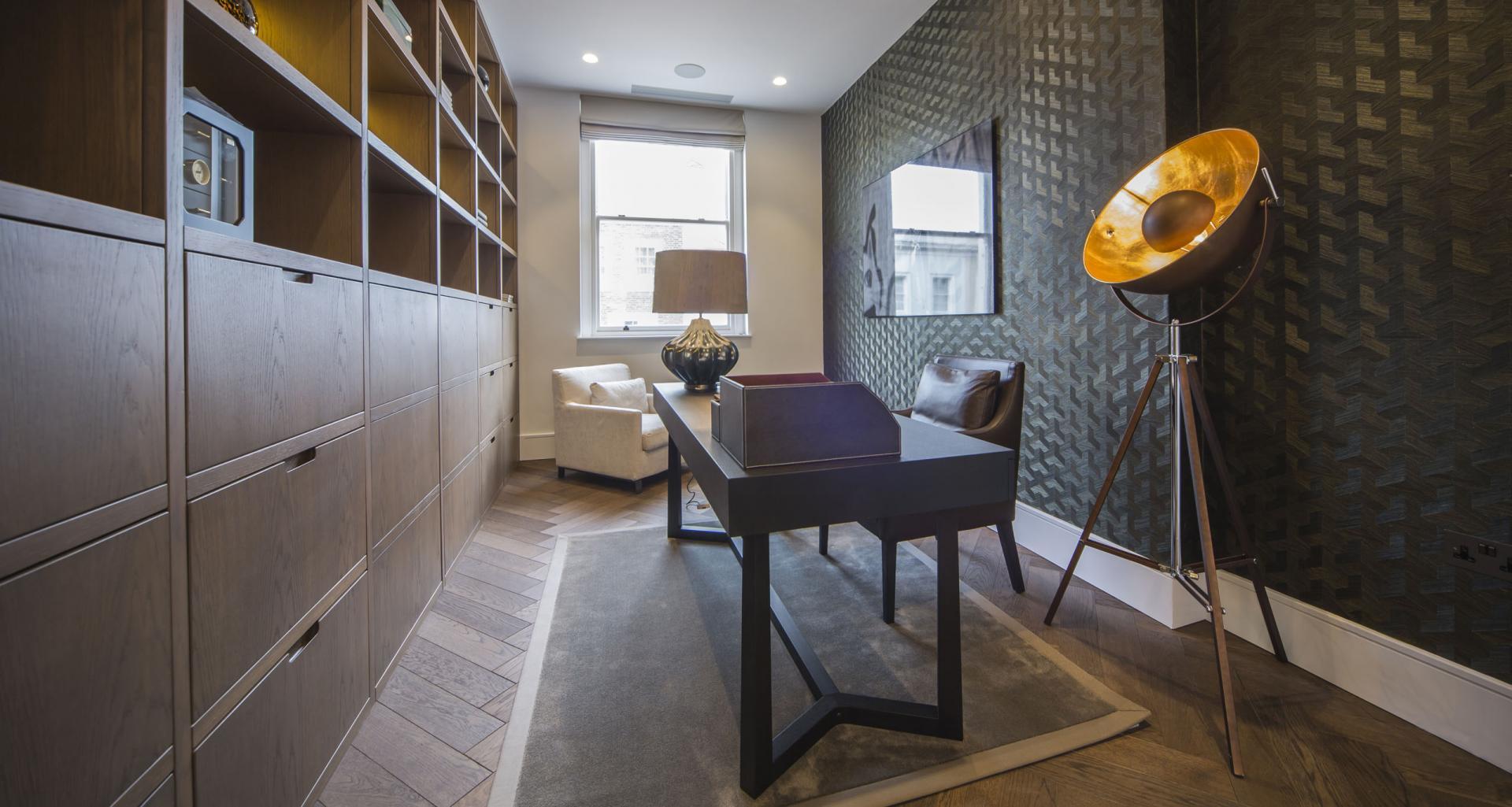 Study at 21 Campden Hill Garden House, Notting Hill, London - Citybase Apartments