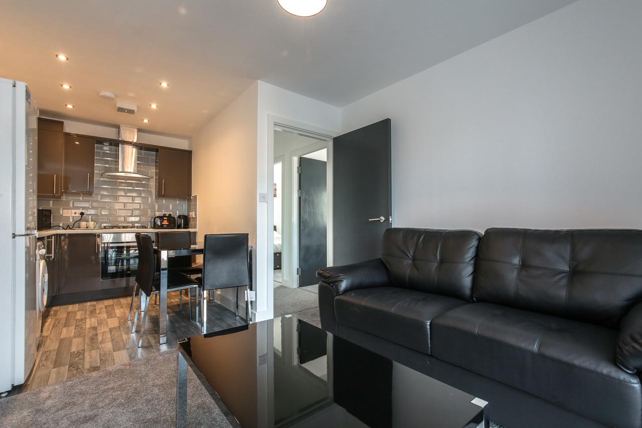 Seat at Sidney Place Apartments, Edge Hill, Liverpool - Citybase Apartments