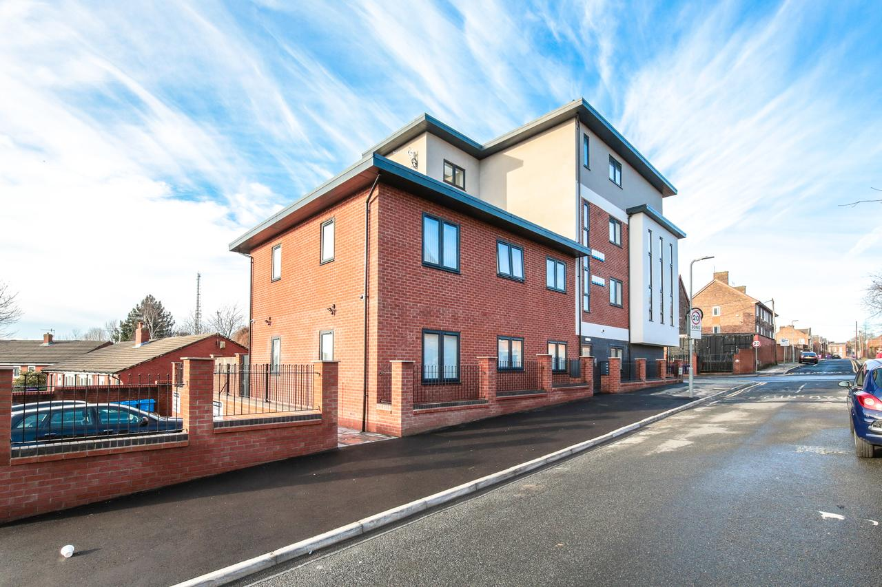 Exterior at Sidney Place Apartments, Edge Hill, Liverpool - Citybase Apartments