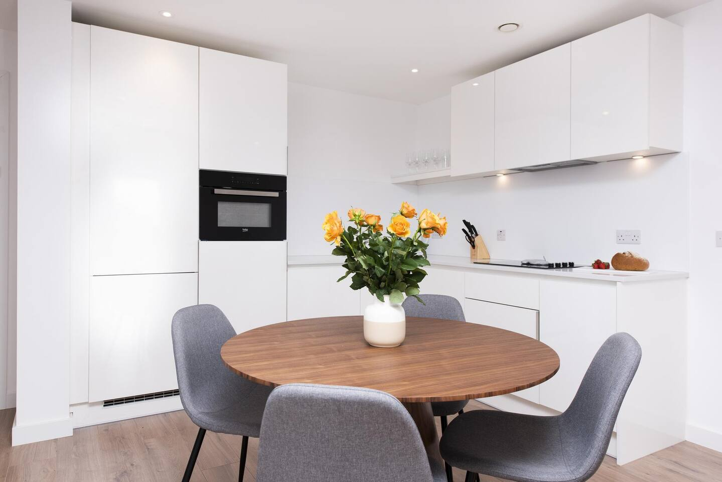 Kitchen at The Lansdowne Apartments, Ladywood, Birmingham - Citybase Apartments