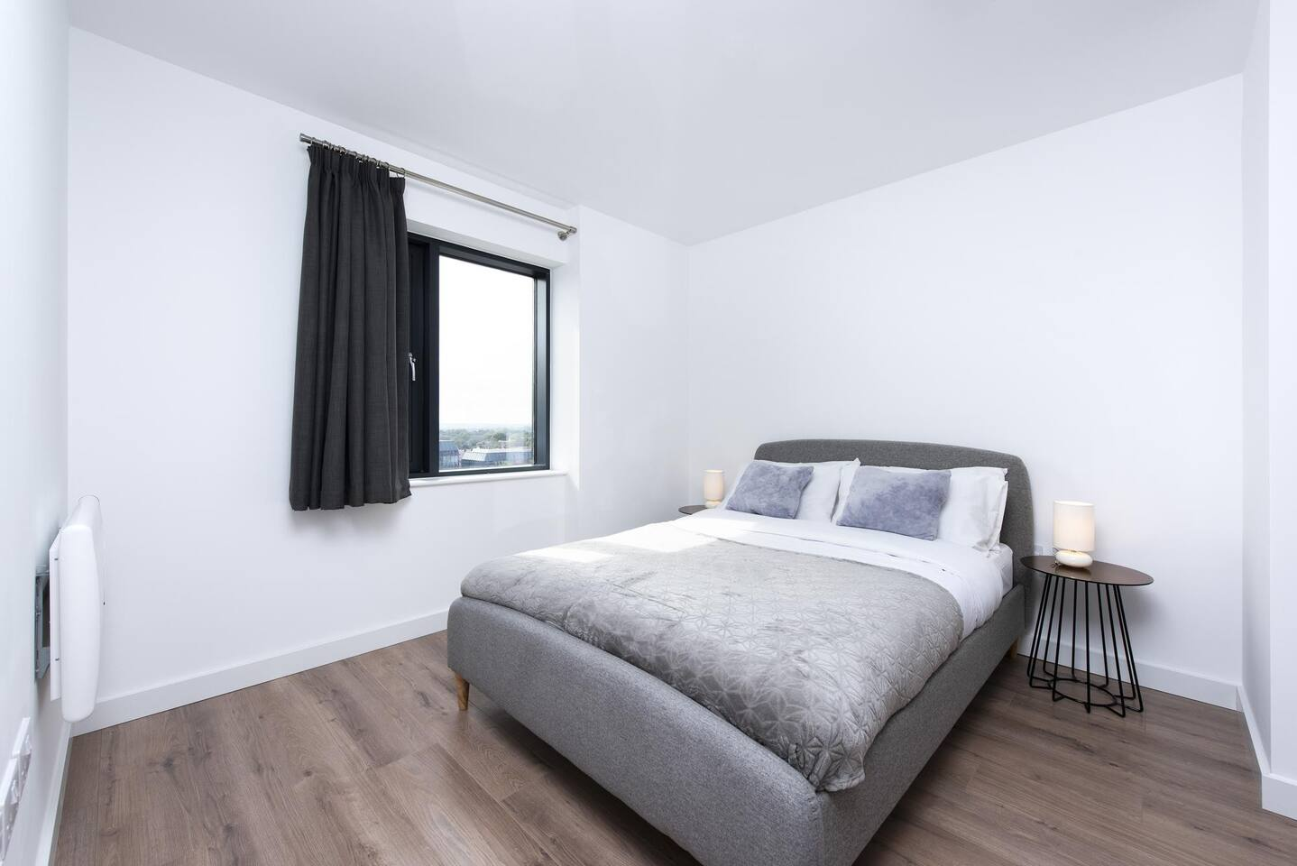 Bedroom at The Lansdowne Apartments, Ladywood, Birmingham - Citybase Apartments