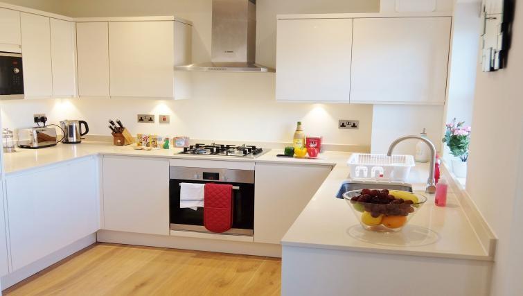 Kitchen at Twickenham Newland Apartments, Twickenham, London - Citybase Apartments