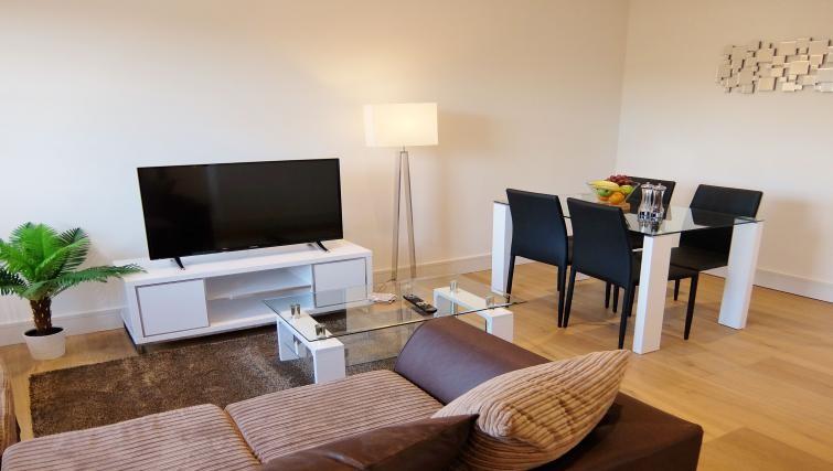 Dining area at Twickenham Newland Apartments, Twickenham, London - Citybase Apartments