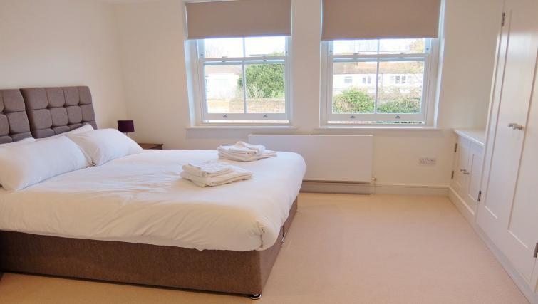 Bed at Twickenham Newland Apartments, Twickenham, London - Citybase Apartments