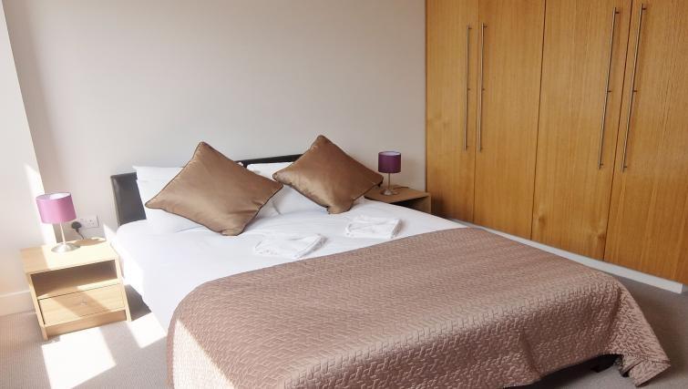 Bedroom at Twickenham Fraser Apartment, Twickenham, London - Citybase Apartments