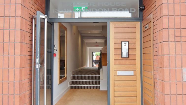 Doorway at Twickenham Fraser Apartment, Twickenham, London - Citybase Apartments