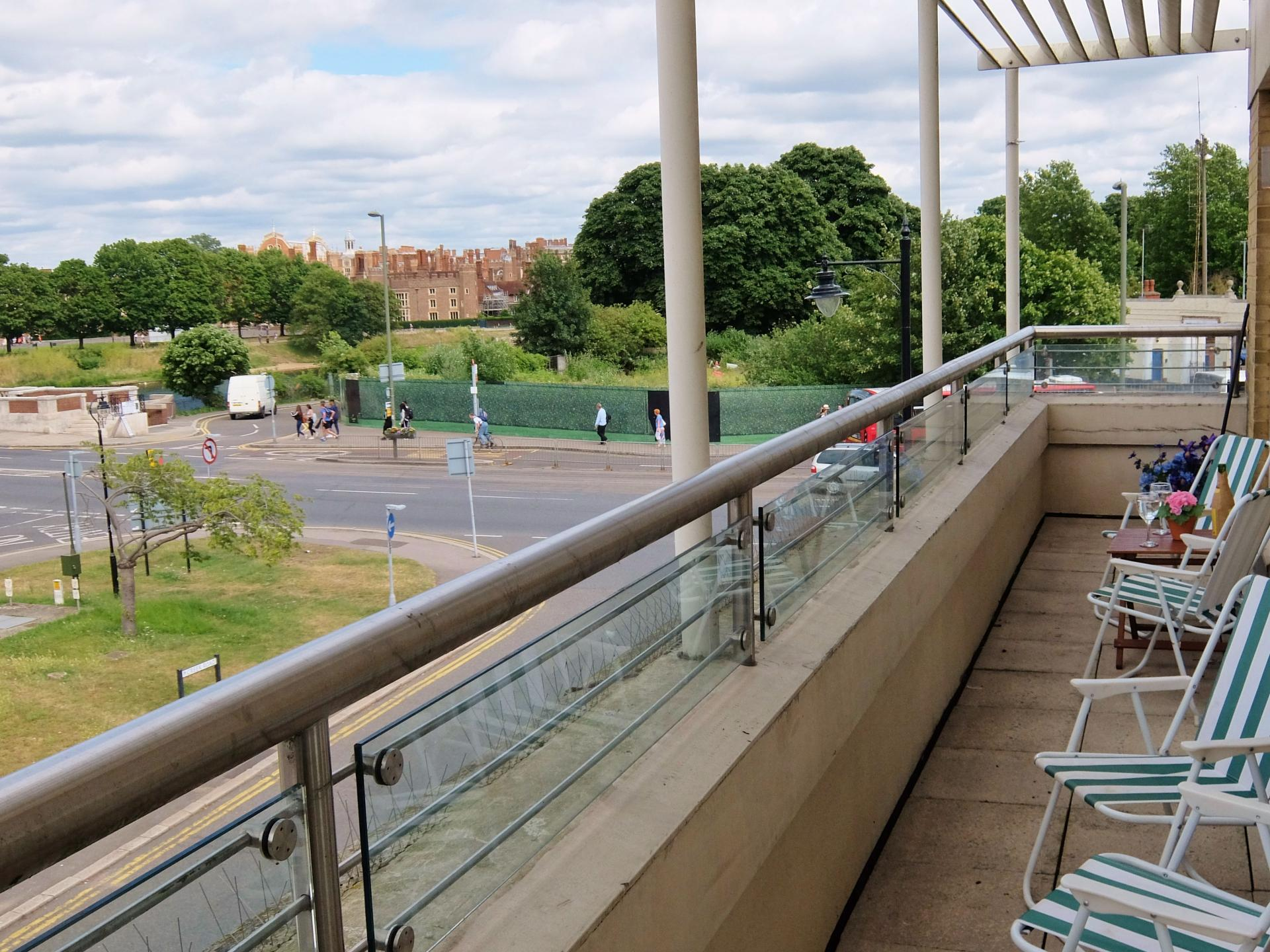Balcony at Hampton Court Creek Road Apartments, Hampton Court, London - Citybase Apartments