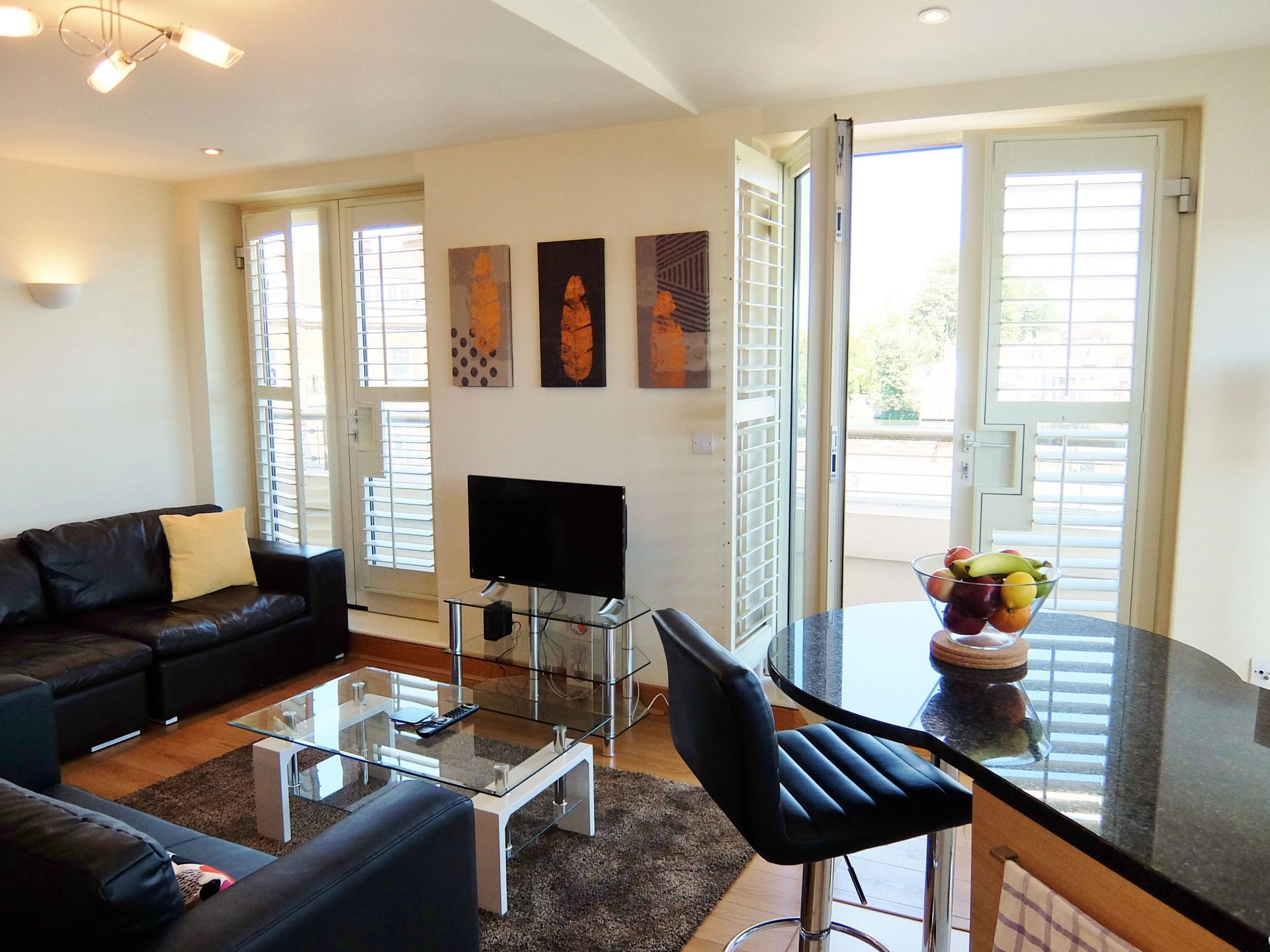 Television at Hampton Court Creek Road Apartments - Citybase Apartments
