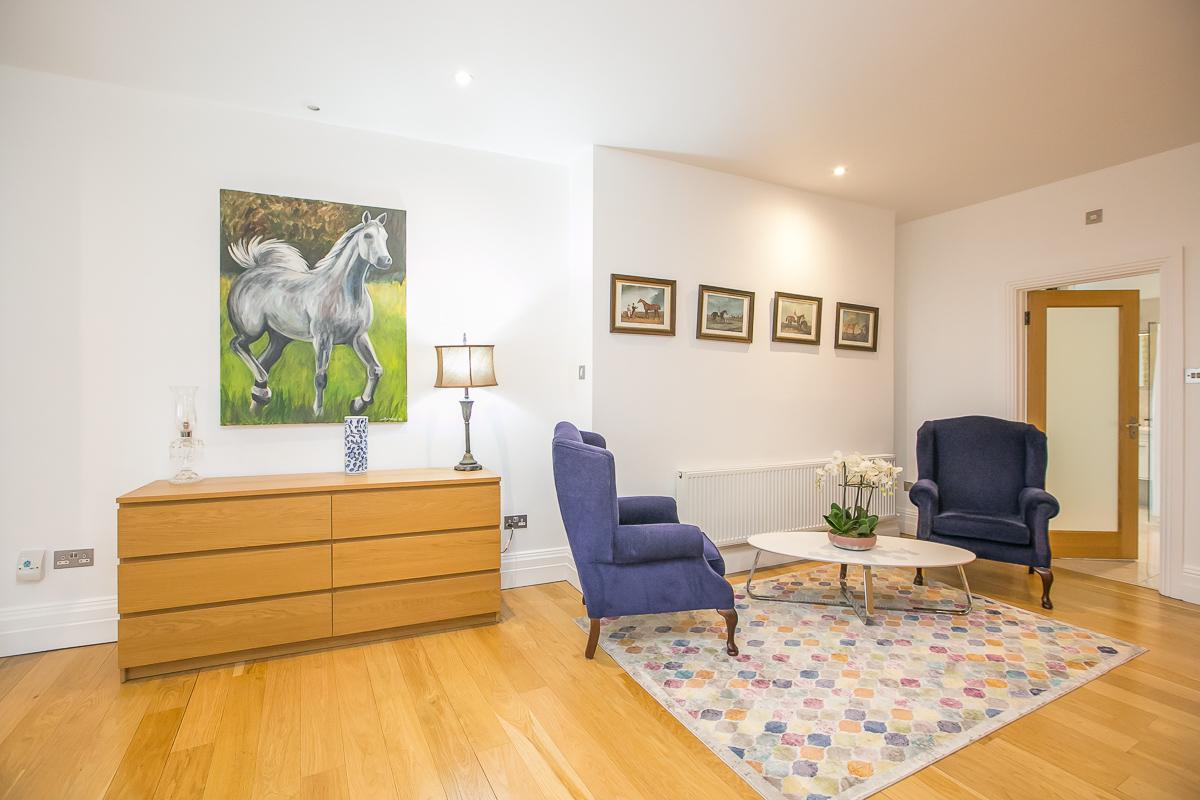 Bedroom / Lounge at Trinity Gardens Apartment, Centre, Dublin - Citybase Apartments