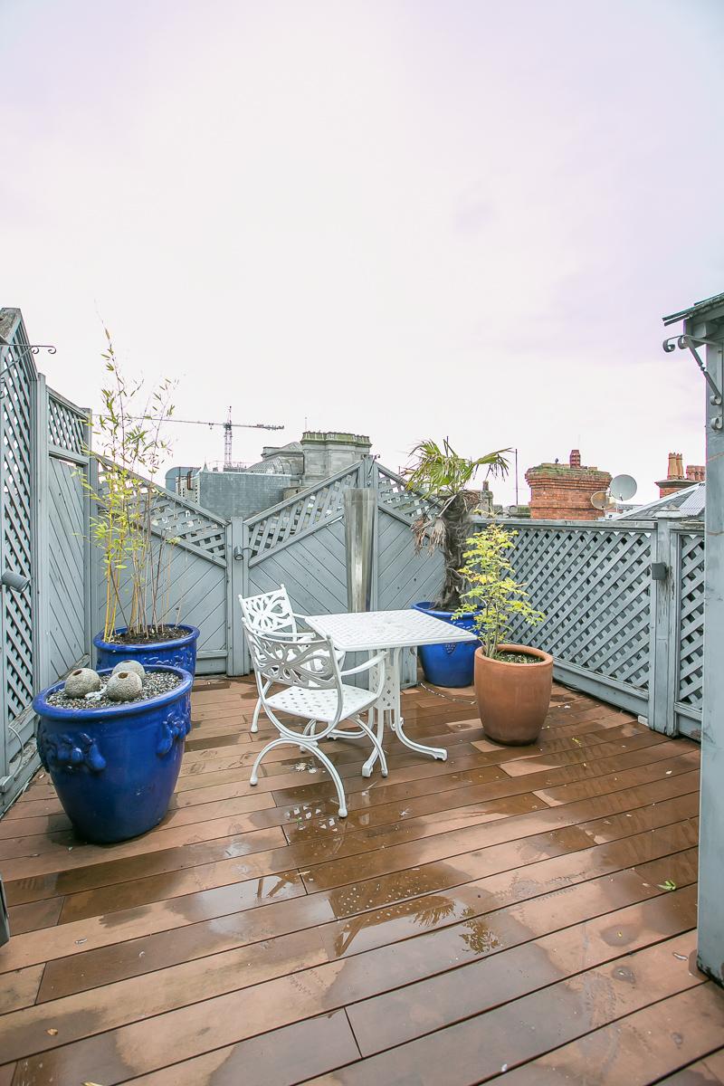 Balcony/Patio at Trinity Gardens Apartment, Centre, Dublin - Citybase Apartments