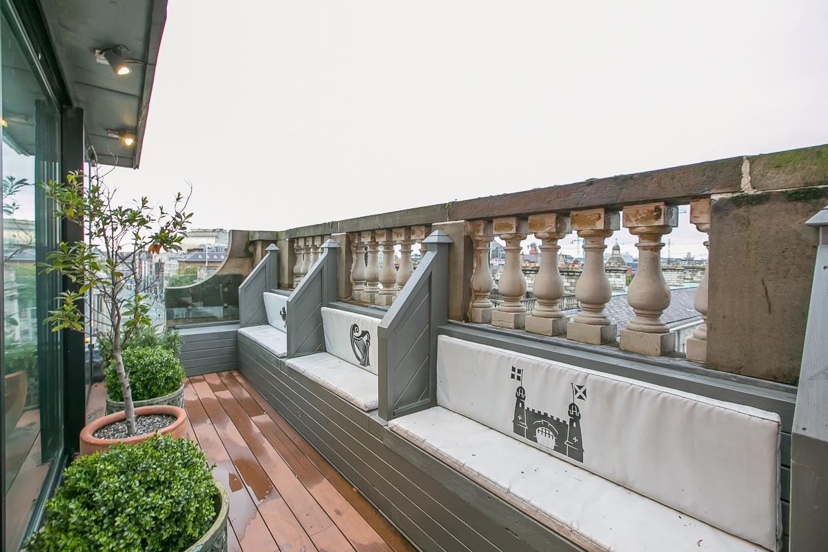 Balcony/Terrace at Trinity Gardens Apartment, Centre, Dublin - Citybase Apartments