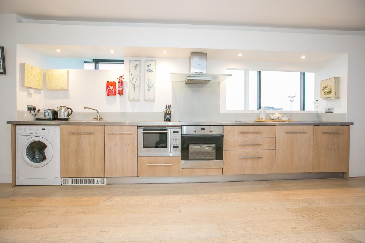 Kitchen at Trinity Gardens Apartment, Centre, Dublin - Citybase Apartments