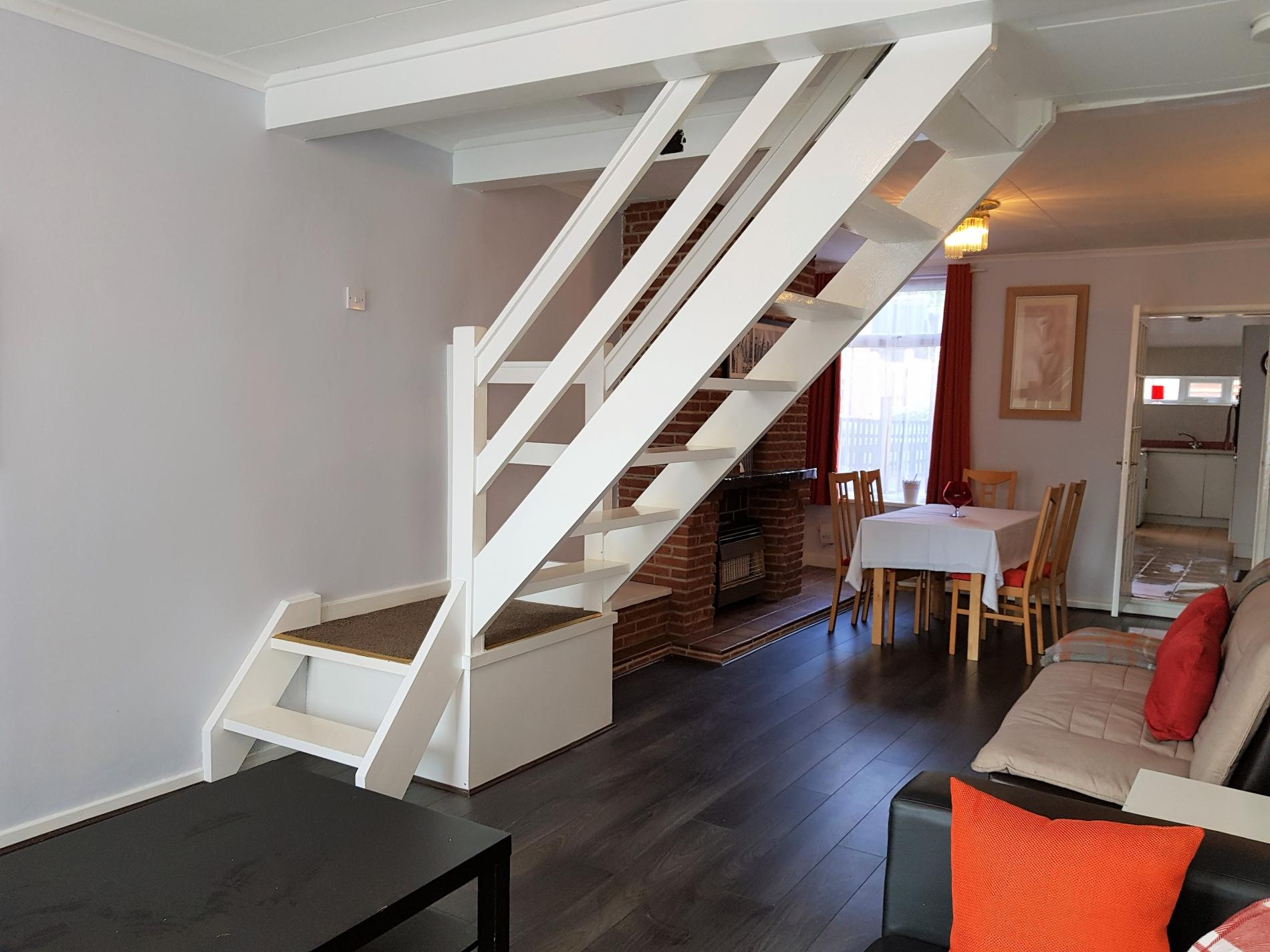 Stairs at Garden City House, Carlton, Nottingham - Citybase Apartments
