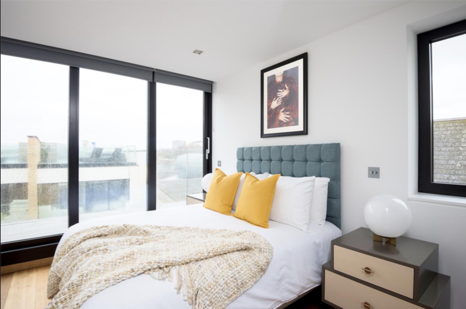 Bedroom at Drum Court Apartments, Barnsbury, London - Citybase Apartments