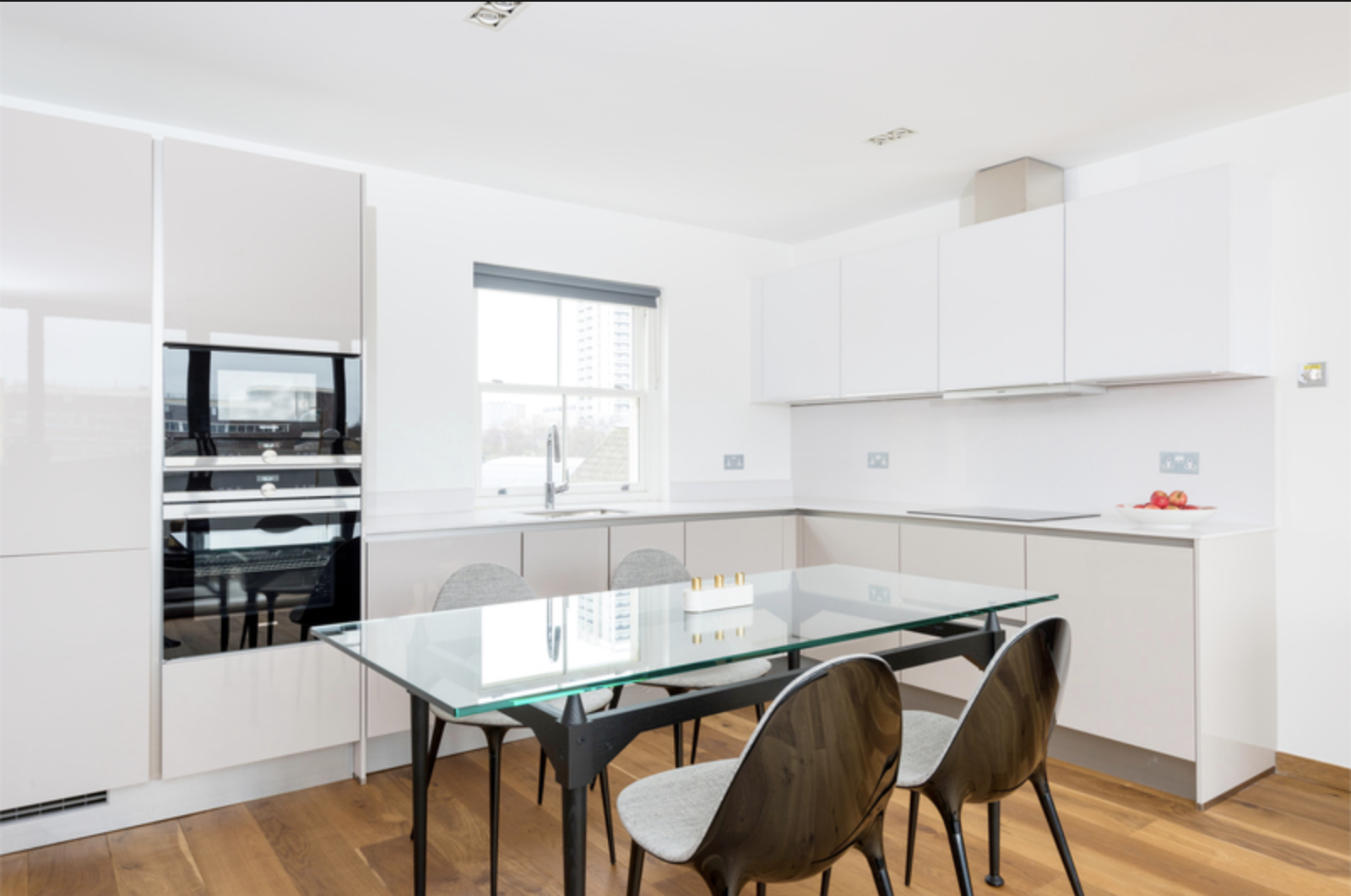 Dining area at Drum Court Apartments, Barnsbury, London - Citybase Apartments