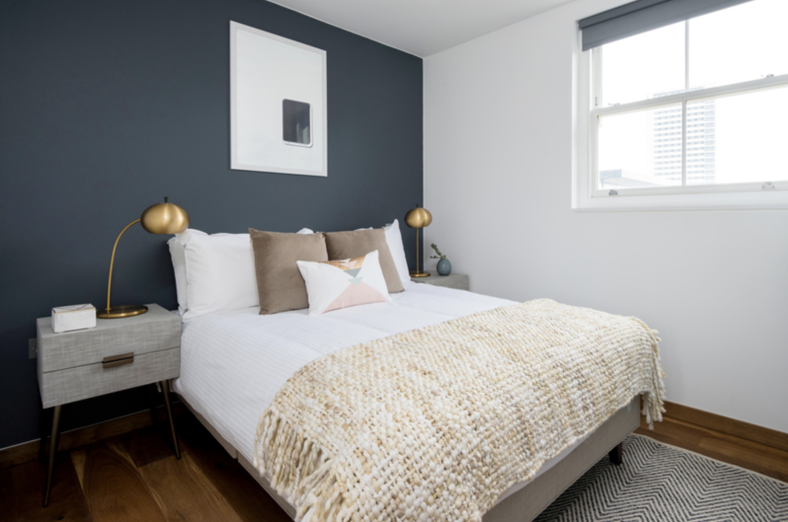 Bed at Drum Court Apartments, Barnsbury, London - Citybase Apartments