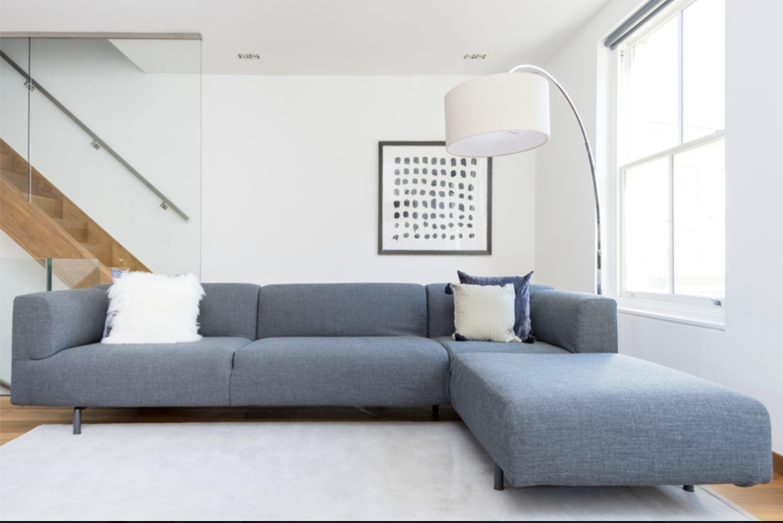 Sofa at Drum Court Apartments, Barnsbury, London - Citybase Apartments