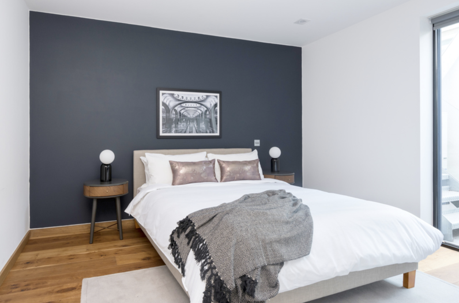 Cosy bed at Drum Court Apartments, Barnsbury, London - Citybase Apartments